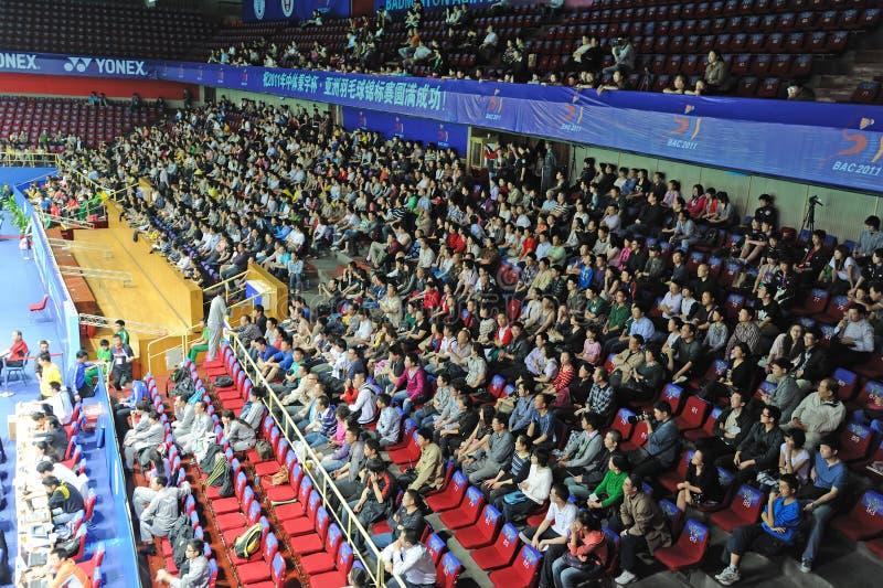 Badmintonasien-Meisterschaften 2011 lizenzfreie stockfotografie
