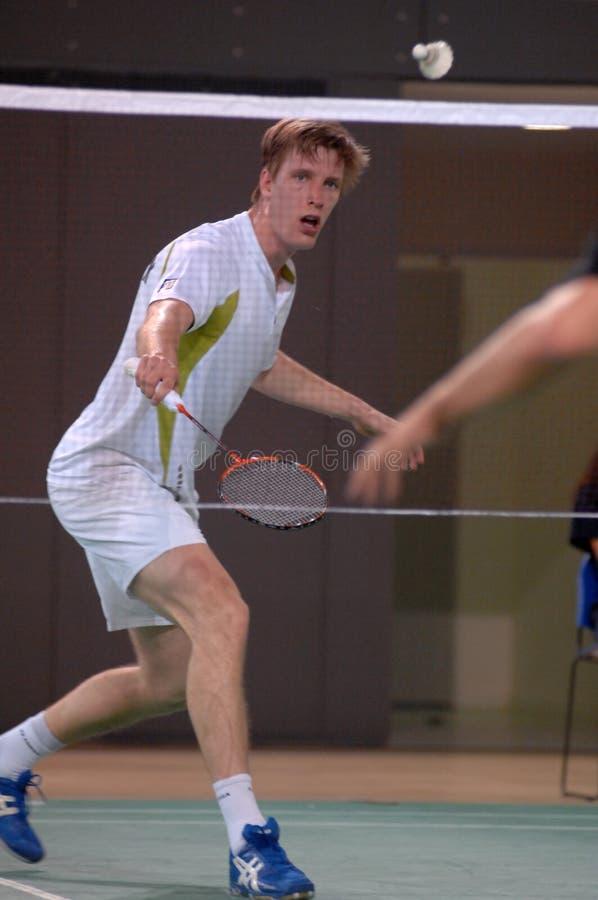 Badmintonmeisterschaft lizenzfreie stockfotografie