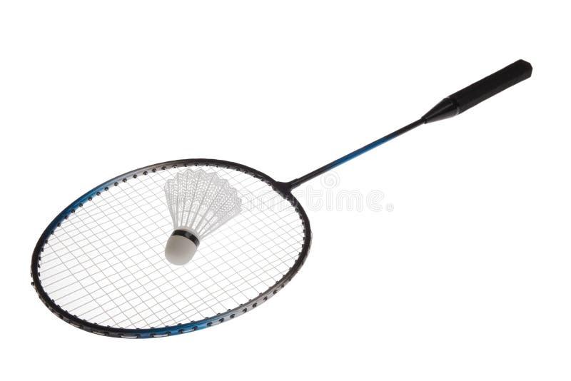 Badmintonracket arkivfoto
