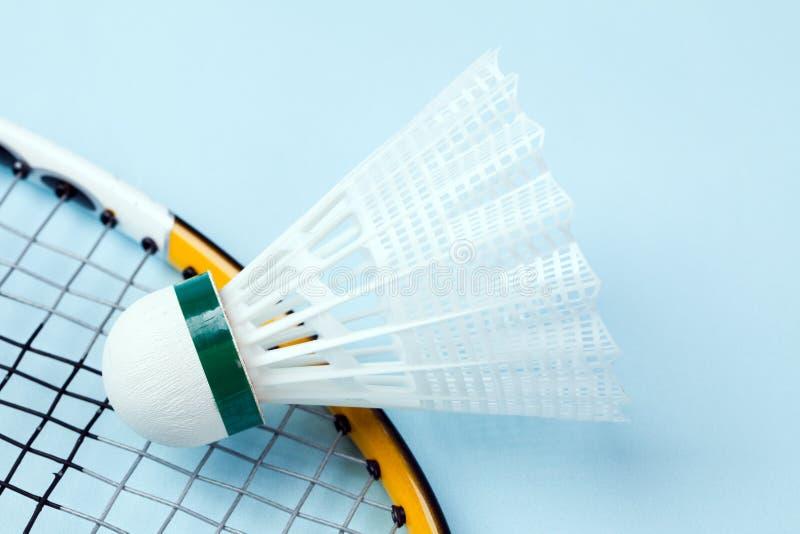 badmintonshuttlecock royaltyfria bilder