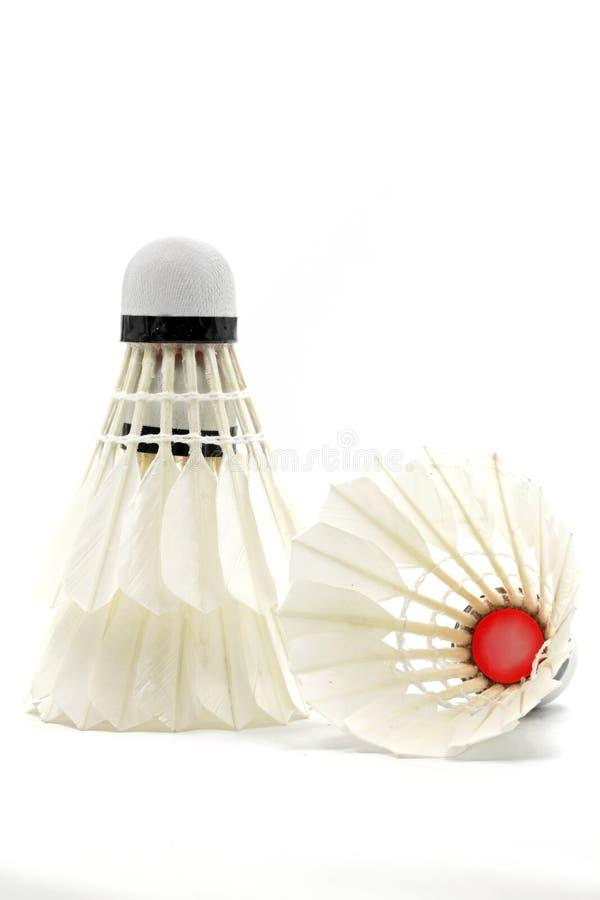 badmintonshuttlecock arkivbild