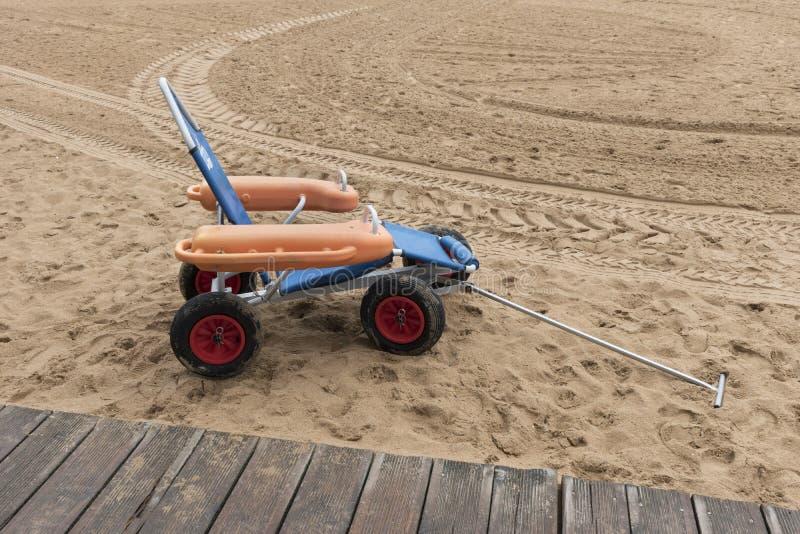 Badningvagn arkivbild