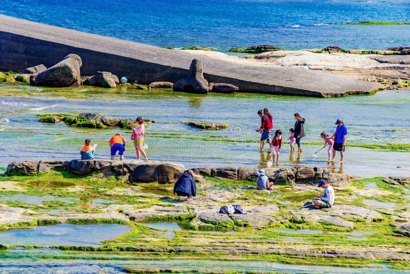 Badouzi nadmorski park zdjęcie stock