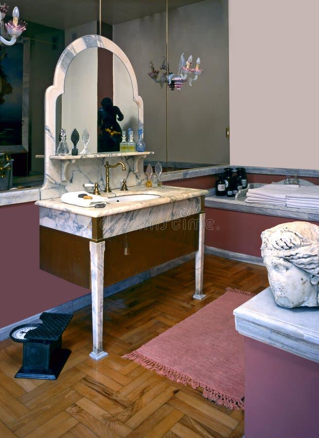 badrum royaltyfri fotografi