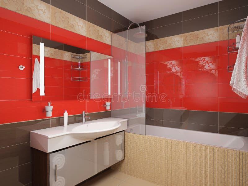 badrum vektor illustrationer