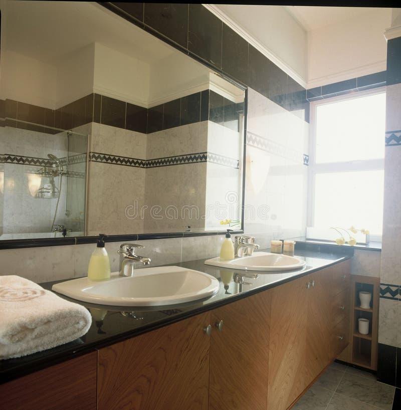 badrumförlage royaltyfria foton
