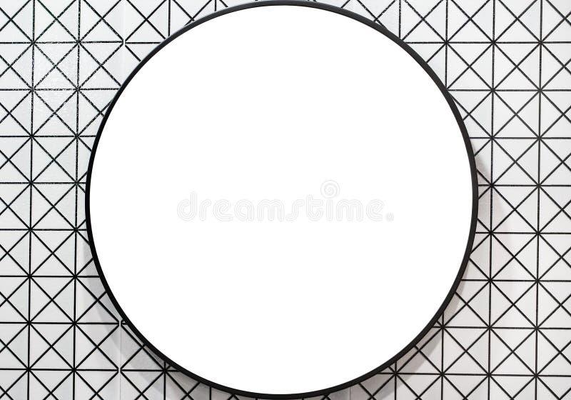 Badrumspegel fotografering för bildbyråer