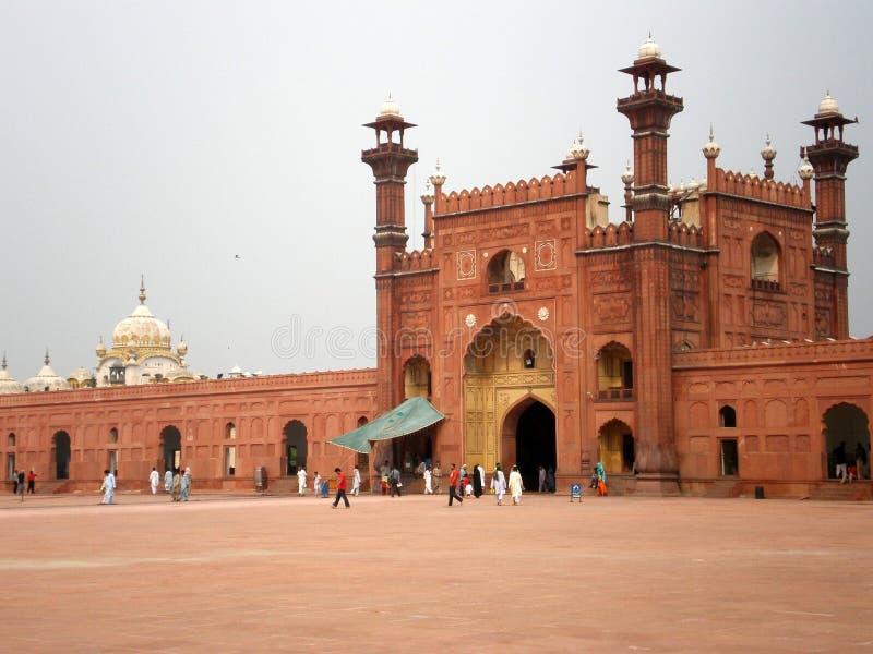 Download Badshahi masjid stock image. Image of islamic, minaret - 3412771