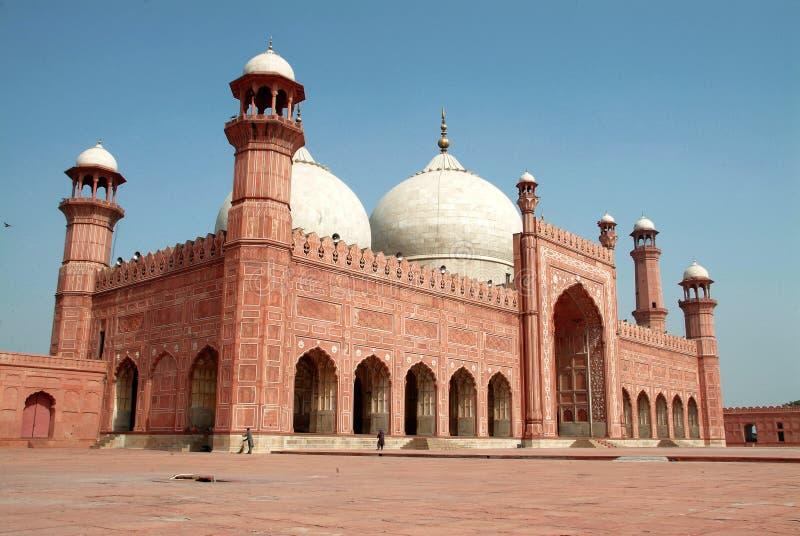 Badshahi masjid lizenzfreie stockbilder