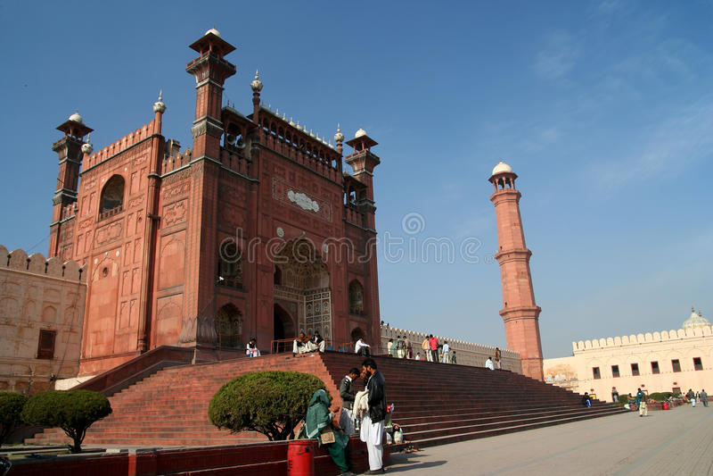 Badshahi Meczet zdjęcie stock
