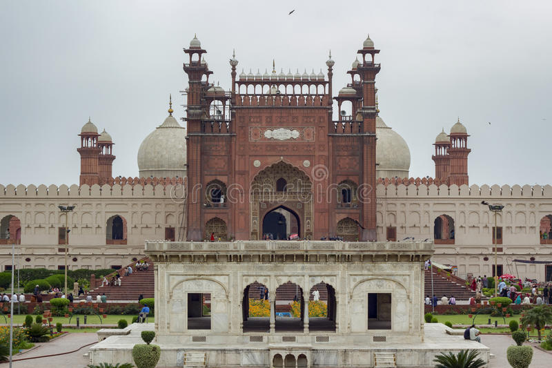 Badshahi meczet, Lahore, Pakistan obrazy royalty free