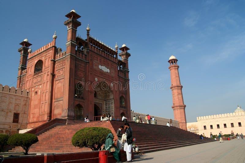 Badshahi Moschee stockfoto