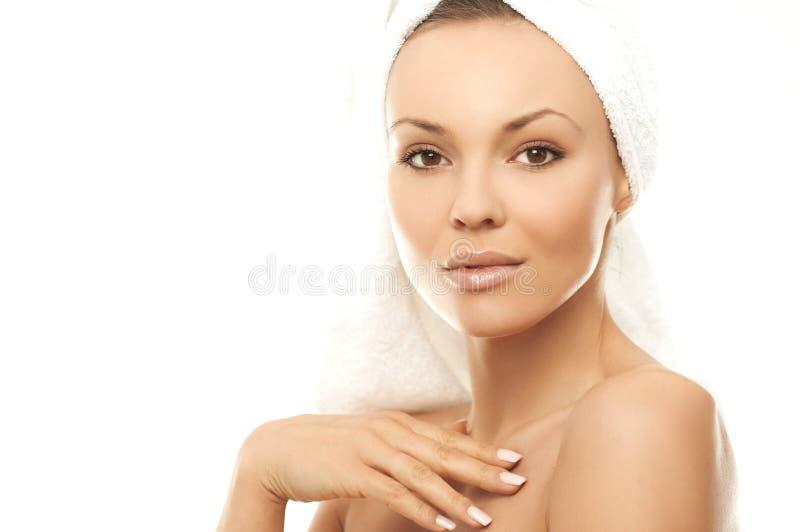 badskönhet royaltyfria bilder