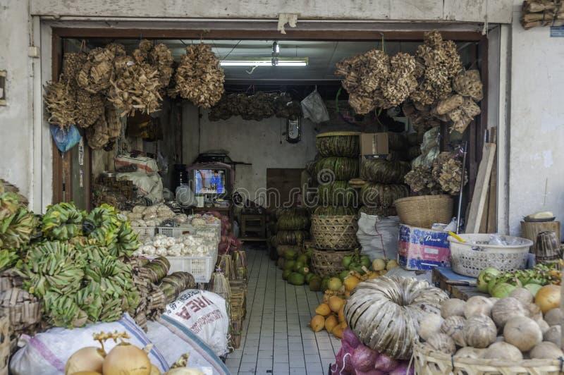 Badung tradycyjny rynek Bali, Indonezja, - zdjęcia royalty free