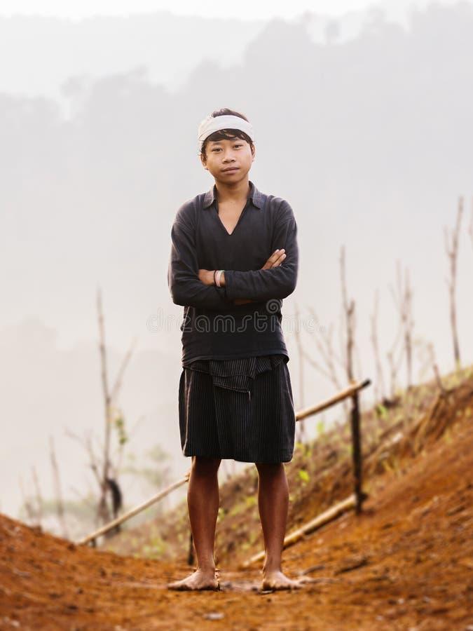 Baduy ou Badui photo libre de droits