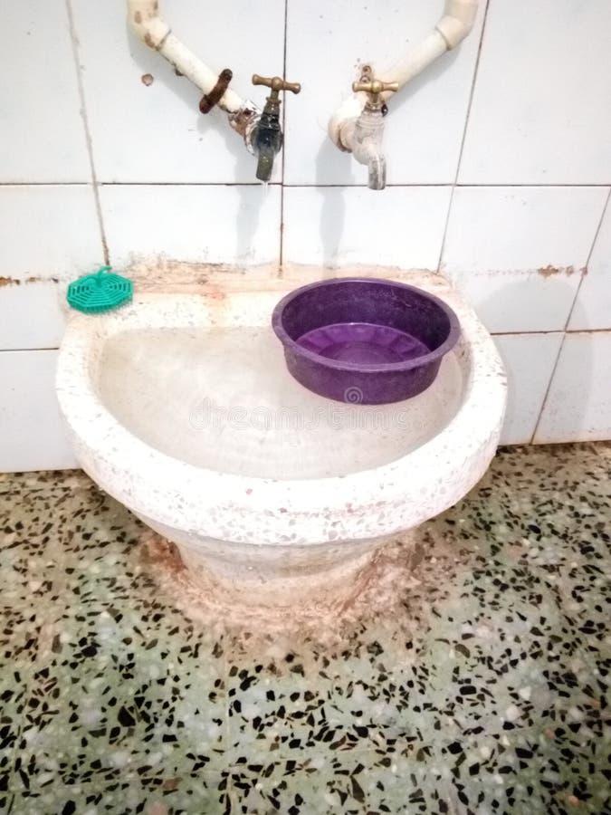 Badwaschbecken Algerien stockfoto