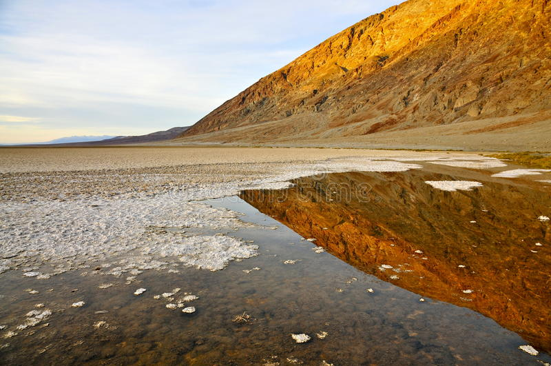 Badwater, Death Valley stock photos