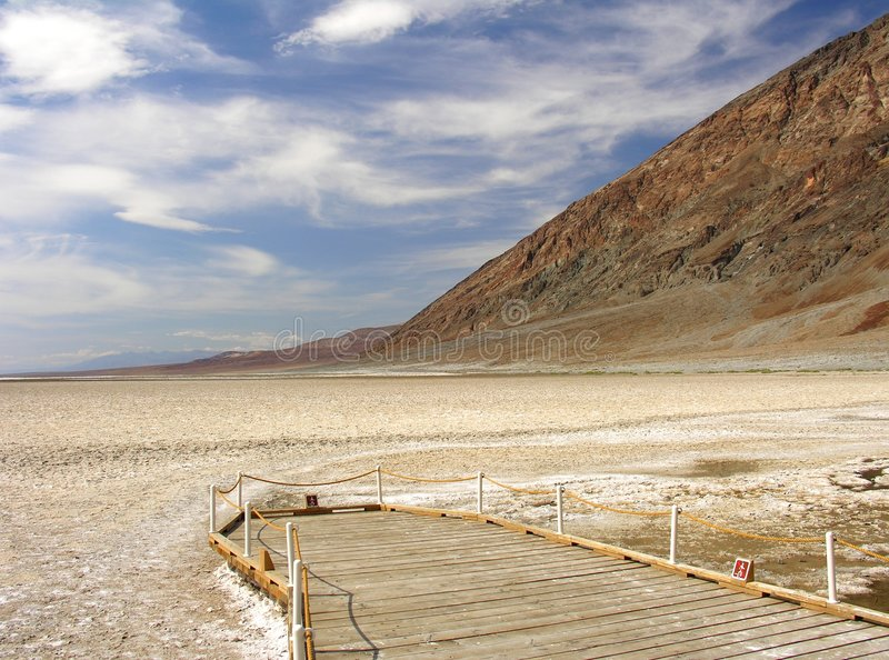 Download Badwater Viewpoint II stock photo. Image of drouth, lone - 255906