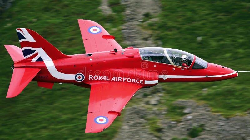 BAE Systems Hawk T Mk.1 jet training aircraft royalty free stock photos