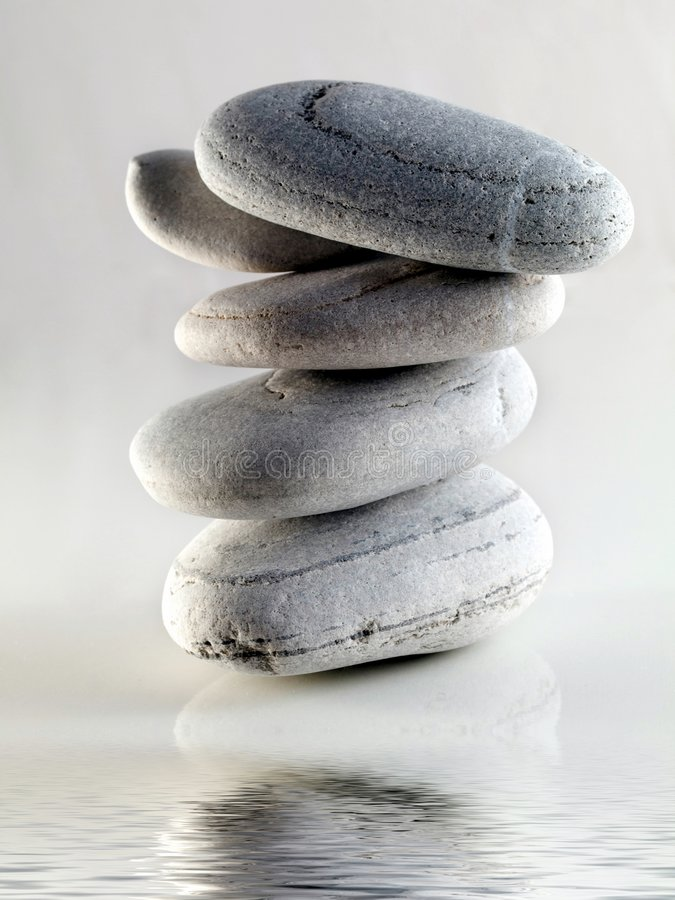 Download Baech stones with water stock photo. Image of spiritual - 7473774