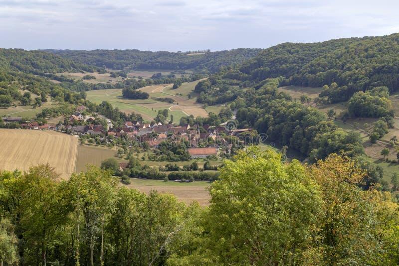 Baechlingen in Hohenlohe immagini stock