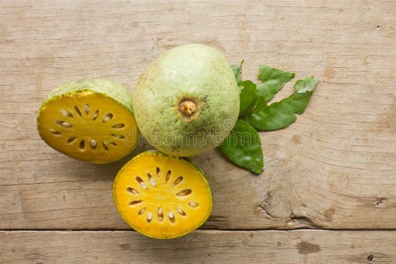 Bael-Frucht stockbild