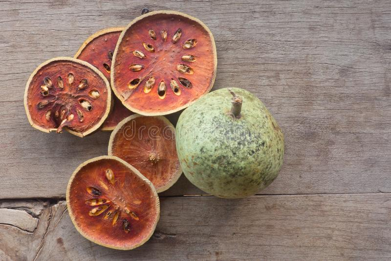 Bael-Frucht lizenzfreies stockfoto