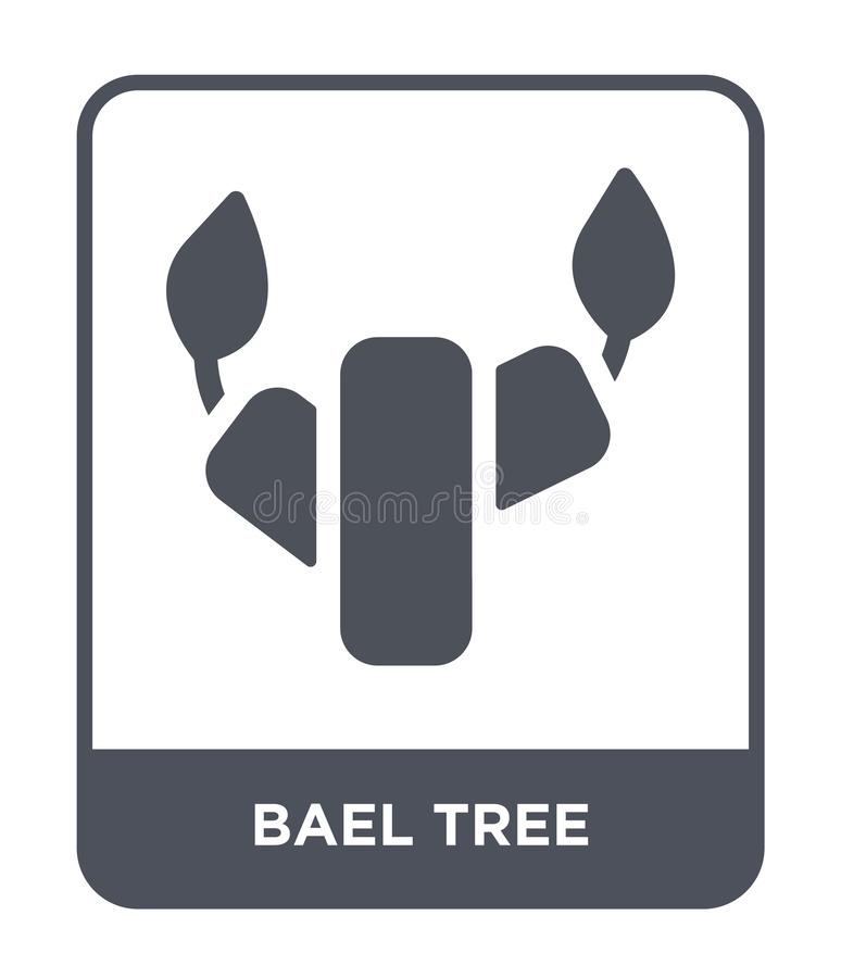 bael tree icon in trendy design style. bael tree icon isolated on white background. bael tree vector icon simple and modern flat stock illustration