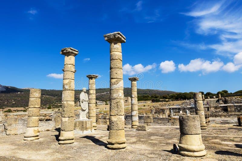 Baelo Клаудия старый римский городок стоковые фото