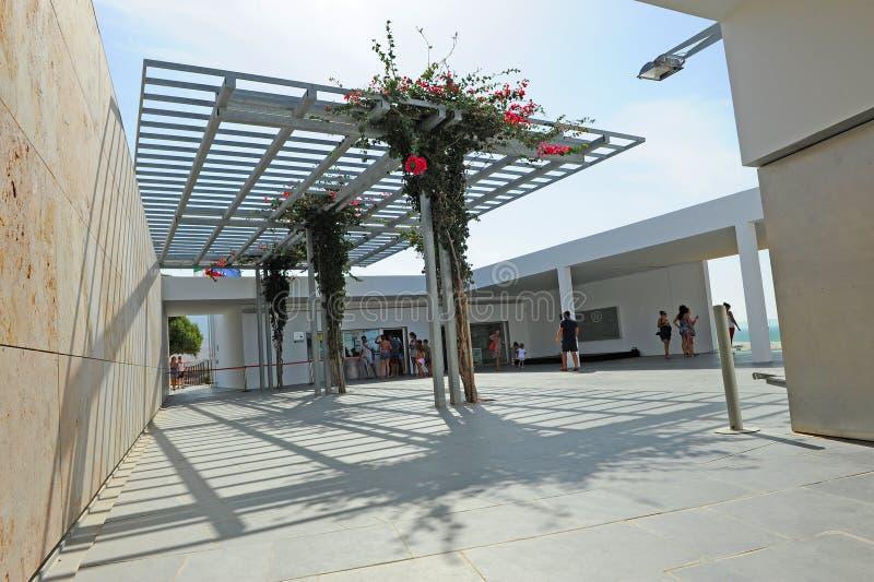 Baelo Claudia Visitor Center in Tarifa, province of Cádiz, Spain stock image