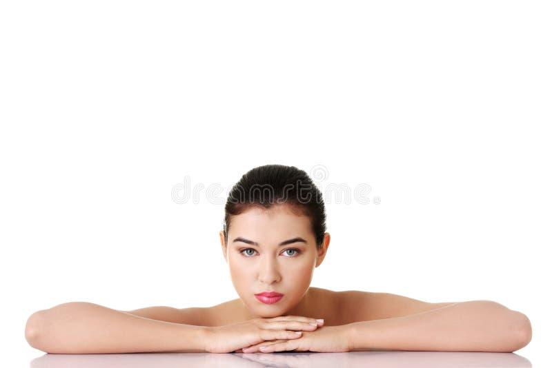 Baeutiful młoda kobieta zdjęcie royalty free