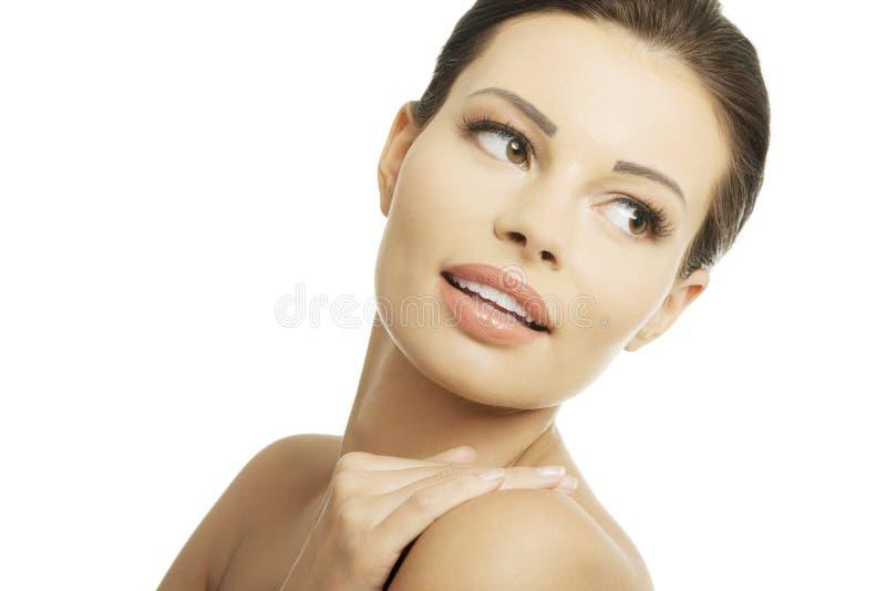 Download Baeutiful Young Woman Portrait Stock Photo - Image: 28096518