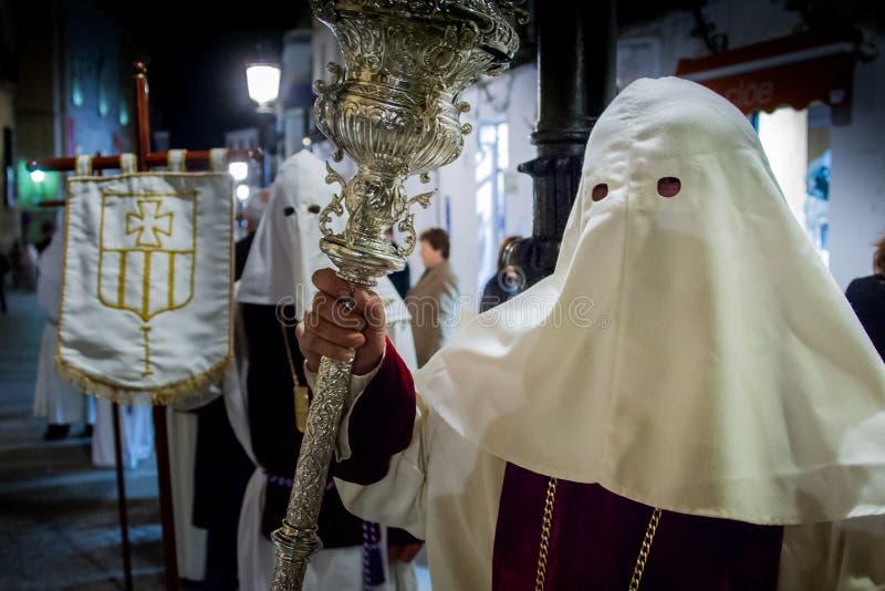 Baeza, Andalucía, provincia de Jaén, España - Semana santa fotos de archivo libres de regalías