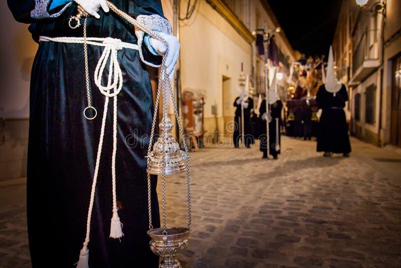 Baeza, Andalusien, Provinz von Jaén, Spanien - Semana Sankt lizenzfreie stockbilder