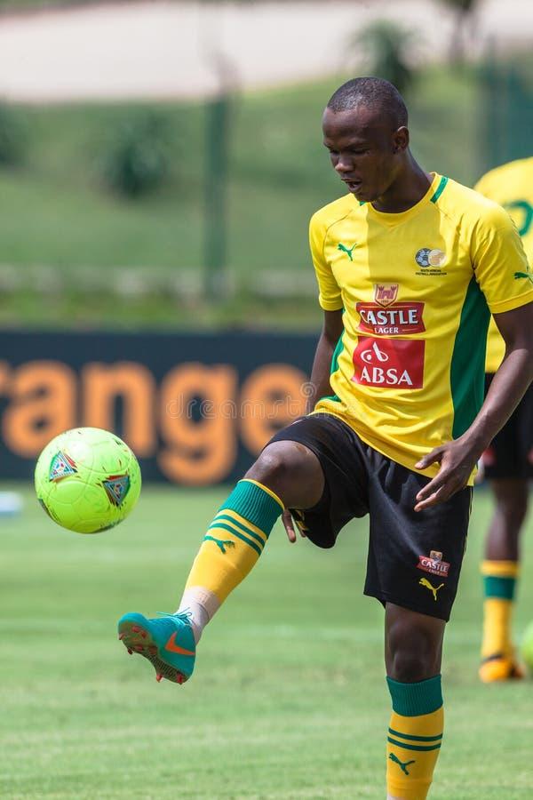 Download Bafana Bafana Gracza Obrońca Fotografia Editorial - Obraz złożonej z fotografia, południe: 28952427