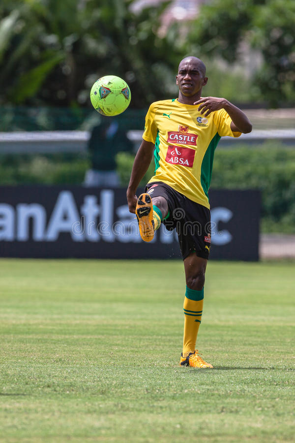 Download Bafana Bafana Player Ball editorial image. Image of sport - 28952390