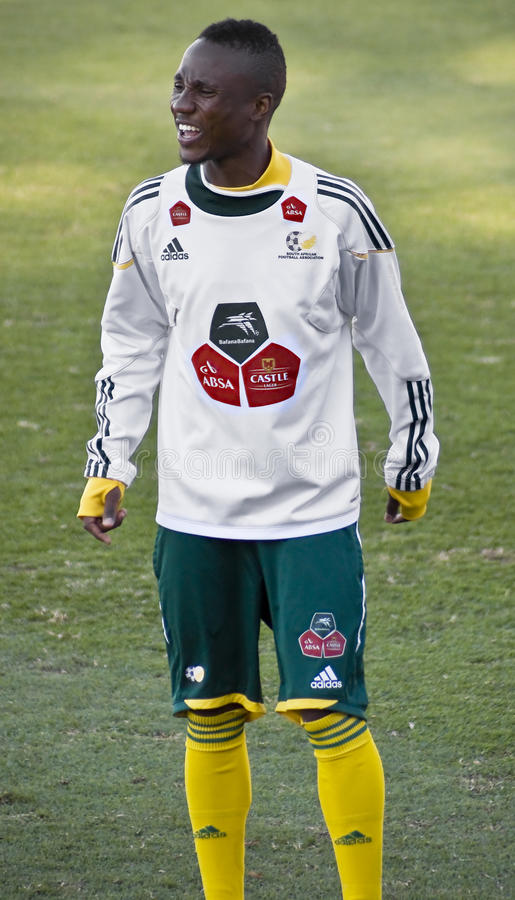 Download Bafana Bafana Soccer Player Editorial Stock Photo - Image: 14297738