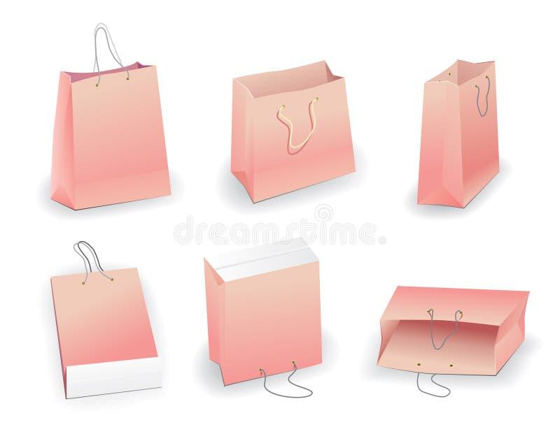 Bag stock illustration