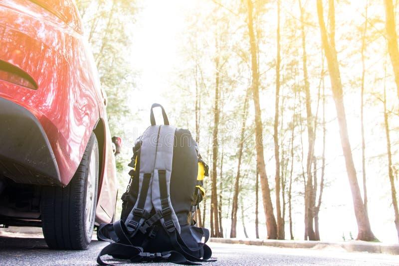 Bag backpack stock photos