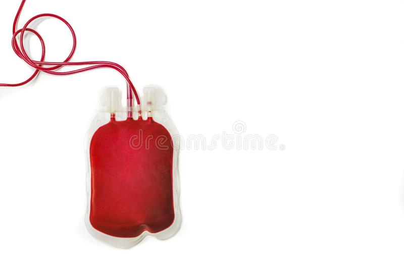 bag of blood royalty free stock photo