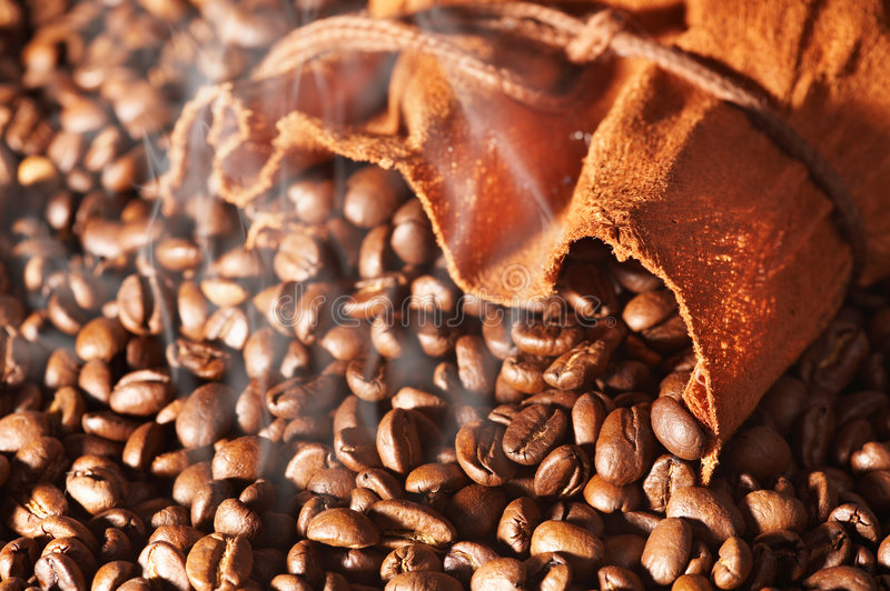 Download Bag of coffee stock image. Image of flavor, brew, brown - 5205171