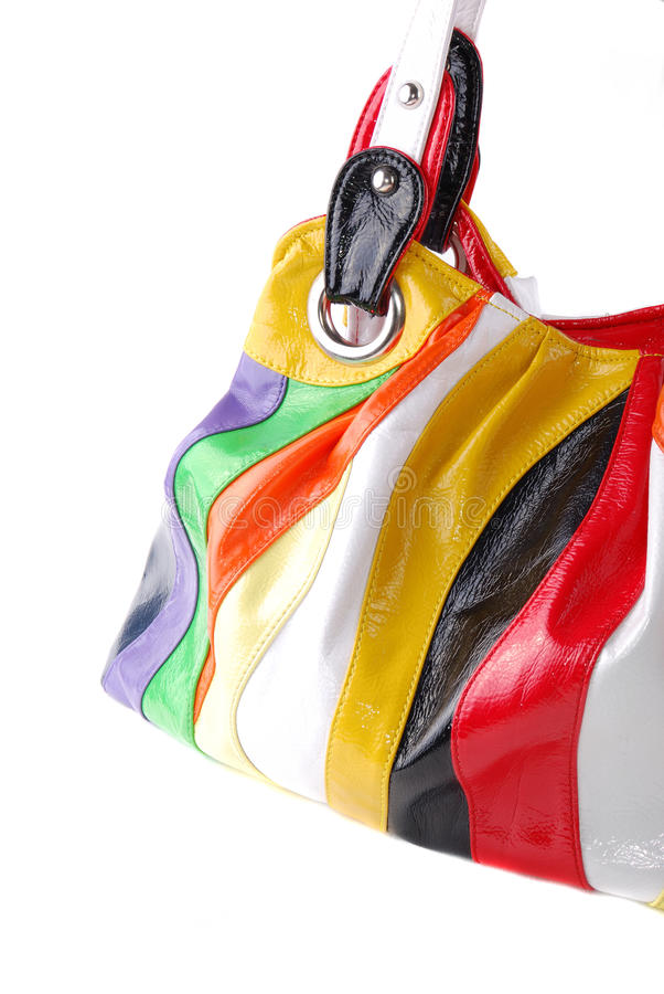 Download Bag from colour rags stock photo. Image of beautiful - 11474818