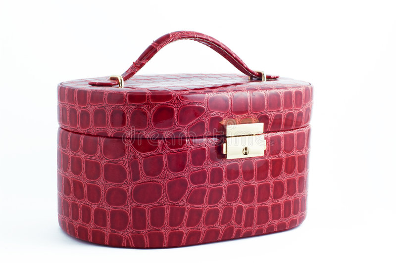 Bag for cosmetics stock image