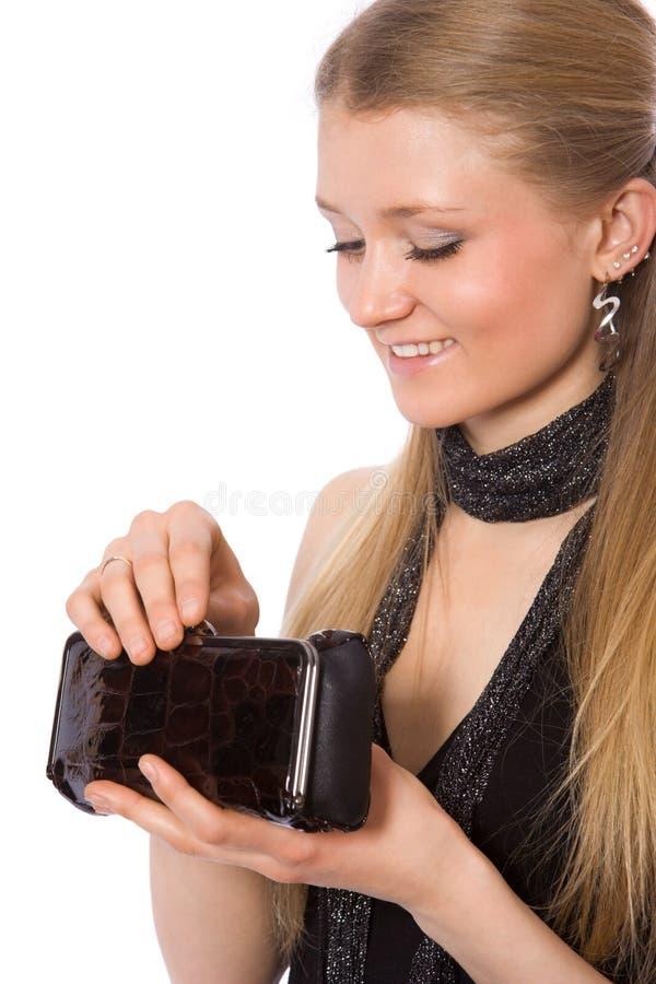 bag dolly girl hands hold smiling στοκ φωτογραφία με δικαίωμα ελεύθερης χρήσης