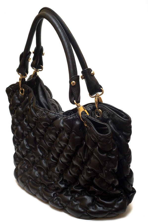 Download Bag Female From A Black Skin Stock Image - Image: 13315825