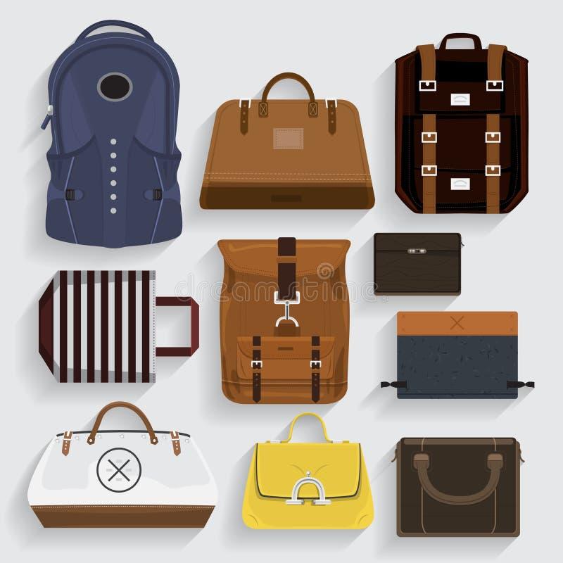 Bag royalty free illustration