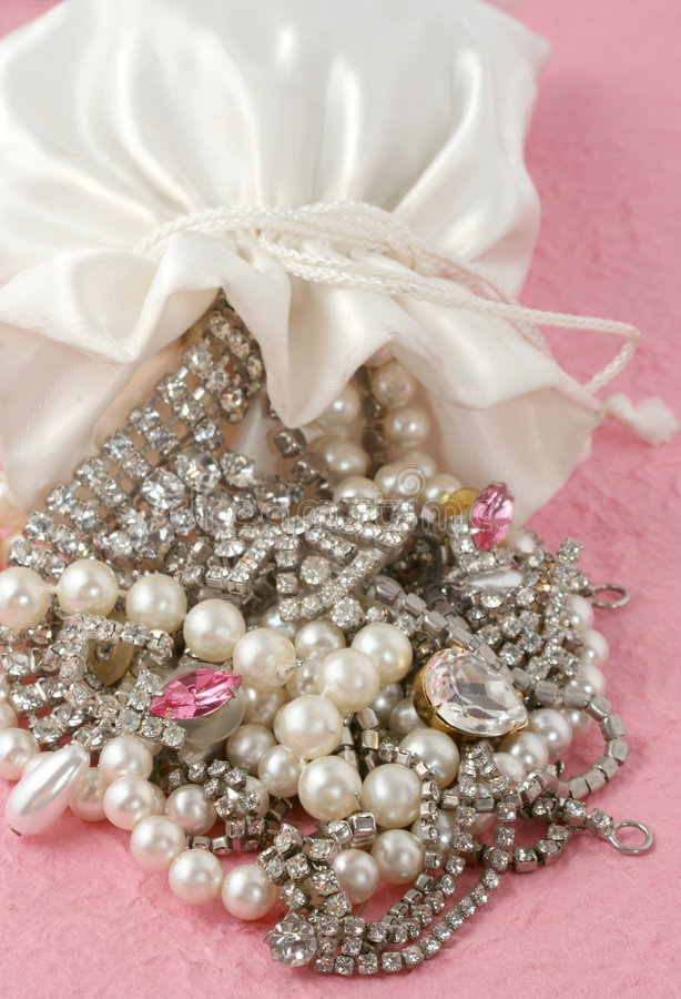 Download Bag of jewels stock photo. Image of gold, charms, sparkle - 983154