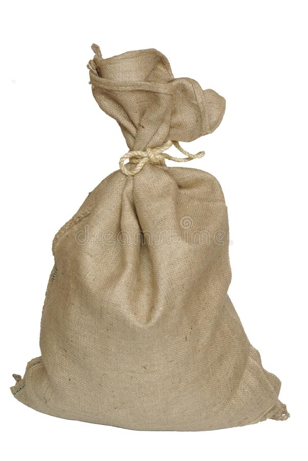 Bag with jute