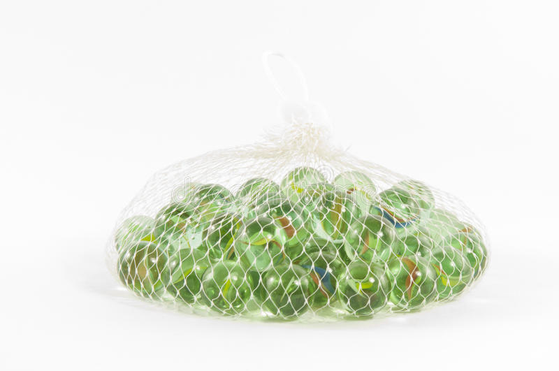 A Bag Of Marbles Royalty Free Stock Photos