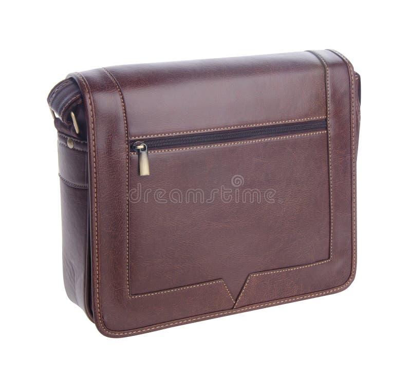 Bag, Men Bag On Background. Stock Photo